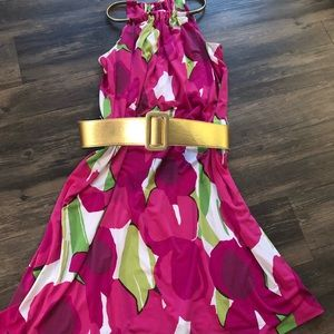 MK dress- can't be wore with or without belt!